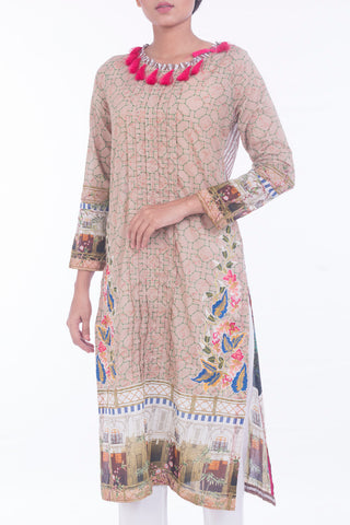 Women's Lawn ( 3 PIECE ) BEIGE
