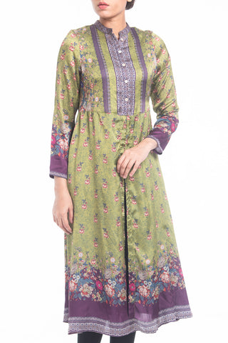Women's Semi-Formal Lawn - WOOD BINE