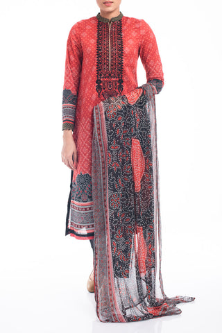 Women's Lawn (3 piece) - OLD BRICK