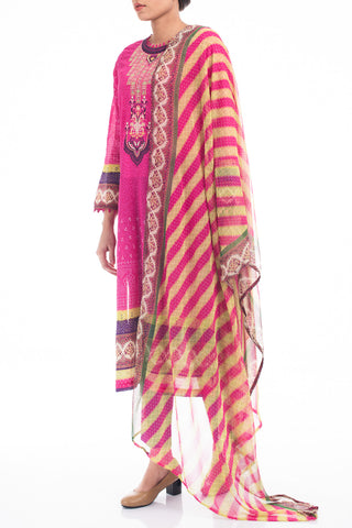 Women's Lawn (3 piece) - PERSIAN ROSE