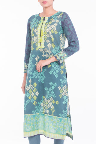 Women's Lawn ( 3 PIECE ) PINE GREEN