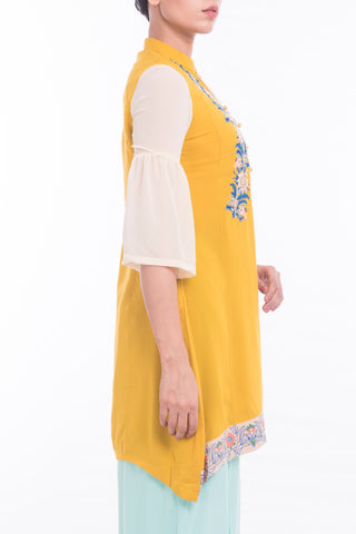 Women's Ethnic Frock YELLOW