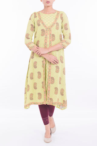 Women's Ethnic LT GREEN
