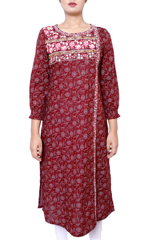 Women's Ethnic CHOCOLATE TRUFFLE PRINTED