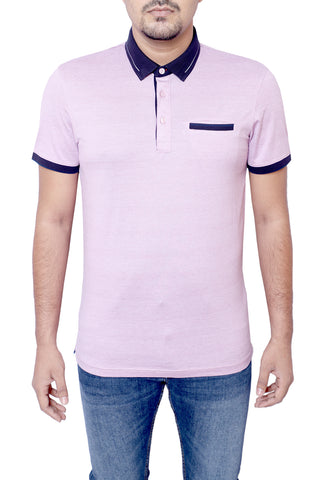 MENS POLO SHIRT V GRAPE W