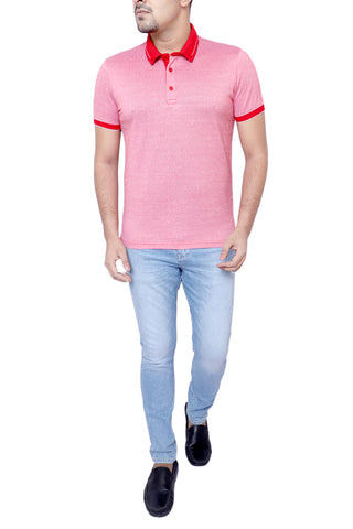 MENS POLO SHIRT TRUE RED