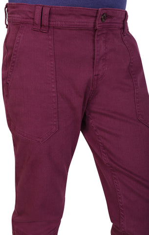 BOYS WOVEN BOTTOM PURPLE (6-9Years)