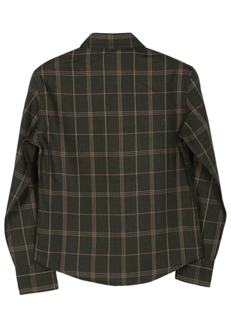 KID BOY WOVEN SHIRT Brown Check
