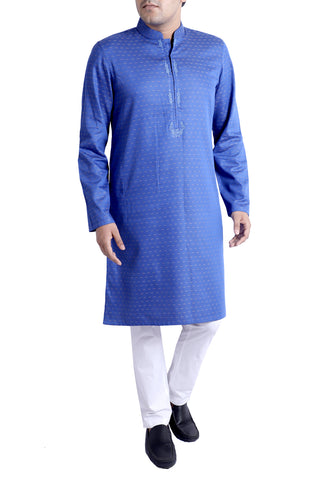 MENS PANJABI BLUE