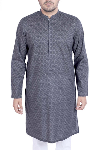 MENS PANJABI GREY