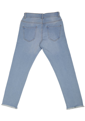 KID GIRL DENIM BOTTOM Lt.BLue