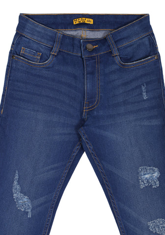 KID GIRL DENIM BOTTOM Dk Blue