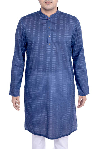 MENS PANJABI ESTATE BLUE