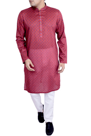 MENS PANJABI FIRED BRICK