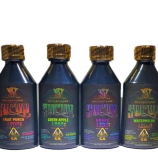 Green Privilege Ultra Potent Solventless Infused Syrup - THClear (1,200mg THC - 4 options)