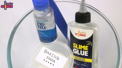 clear slime saline solution