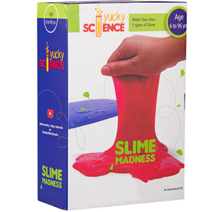 Slime Madness. Make 5 Types of Slime with Borax.