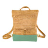 BE BREEZY | Mini | Rustic Cork + Faux Leather