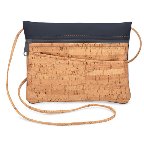 BE LIVELY 2-in-1 | Rustic Cork + Faux Leather