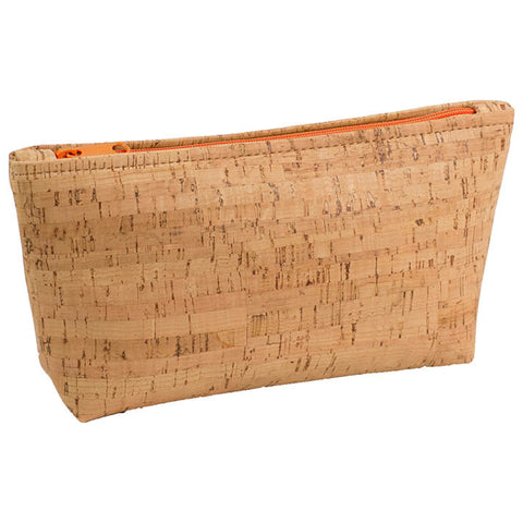 BE ORGANIZED | Large Zip Pouch | Rustic Cork