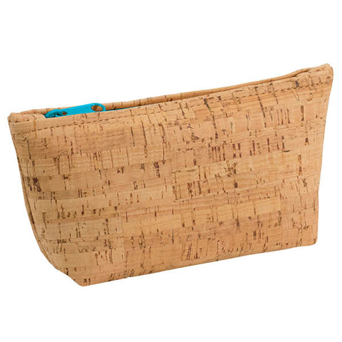 BE ORGANIZED | Medium Zip Pouch | Rustic Cork