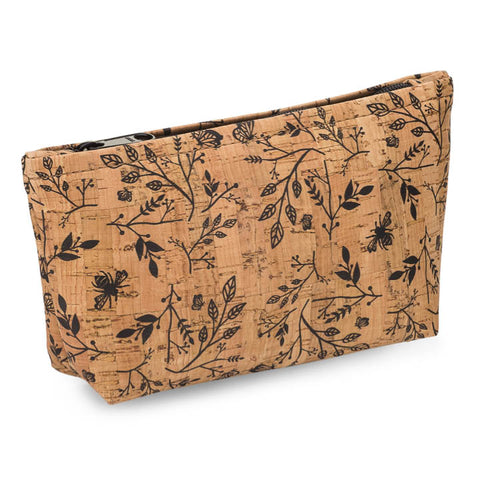 BE ORGANIZED | Medium Zip Pouch | Floral Print
