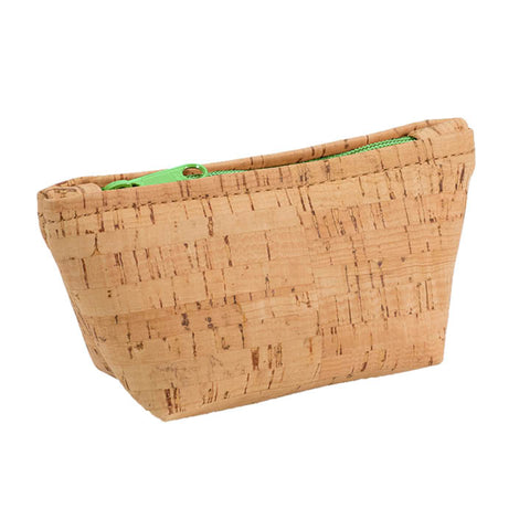 BE ORGANIZED | Small Zip Pouch | Rustic Cork