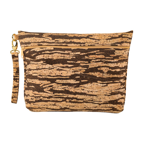Be Ready Oversized Wristlet | Bark Cork