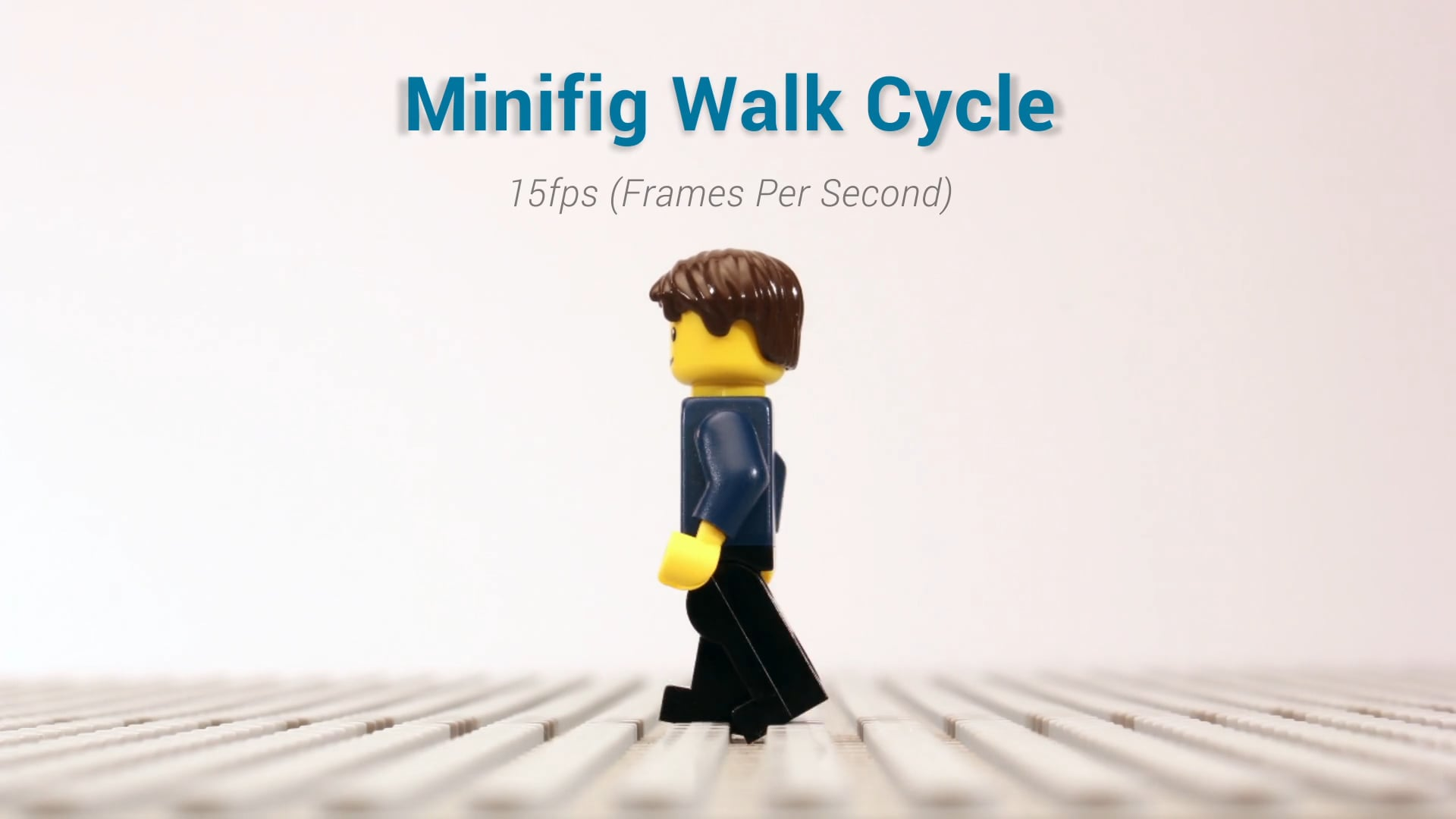 How to Animate a LEGO Minifig Walking