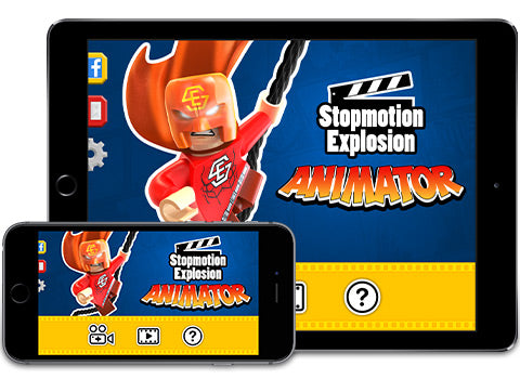 Stopmotion Explosion Animator for iOS