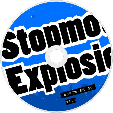 Stopmotion Explosion Software CD