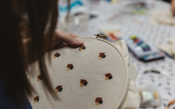 Hand Embroidery by Mothers - Our Barehands