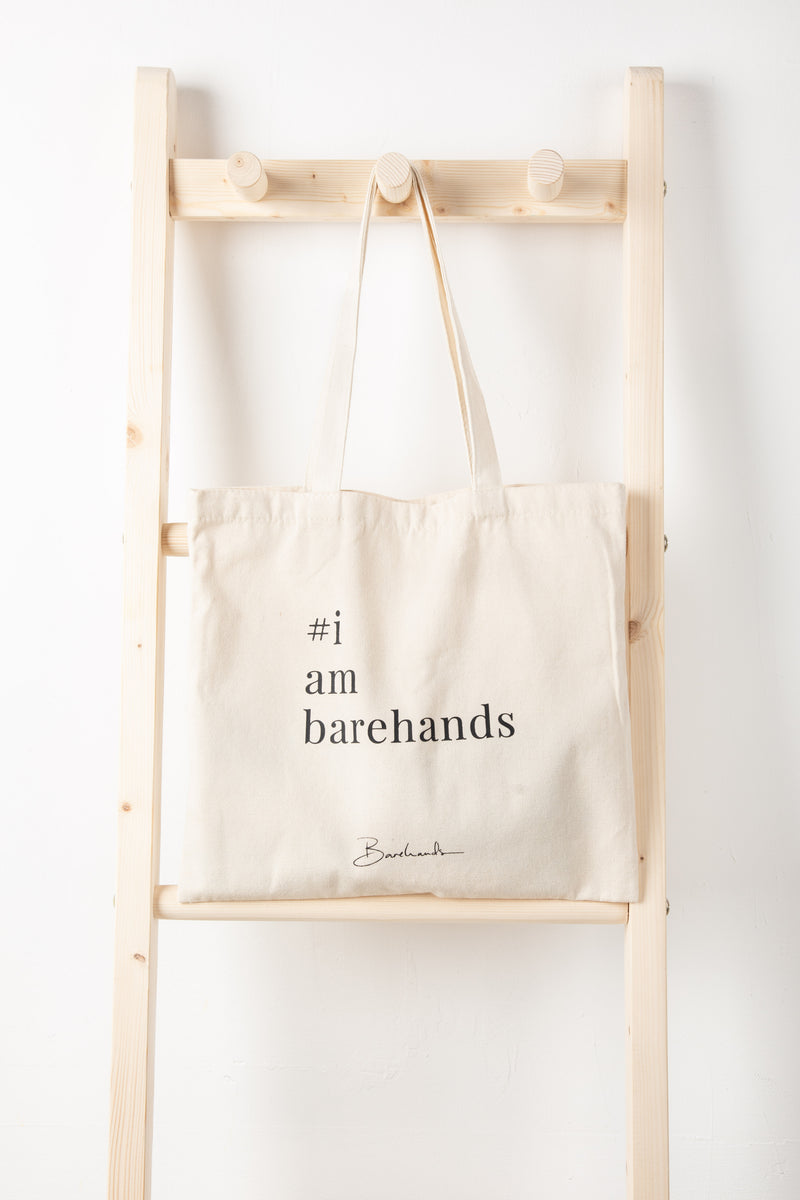 #iambarehands Tote Bag
