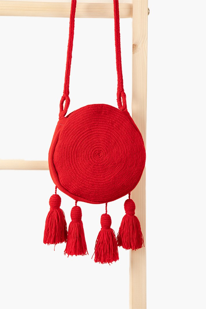 Wayuu Banjo Mini Sling - Chilli - Our Barehands