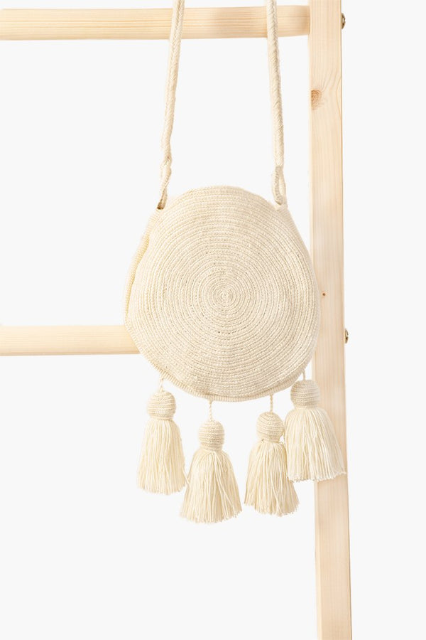 Wayuu Banjo Mini Sling - Ivory - Our Barehands