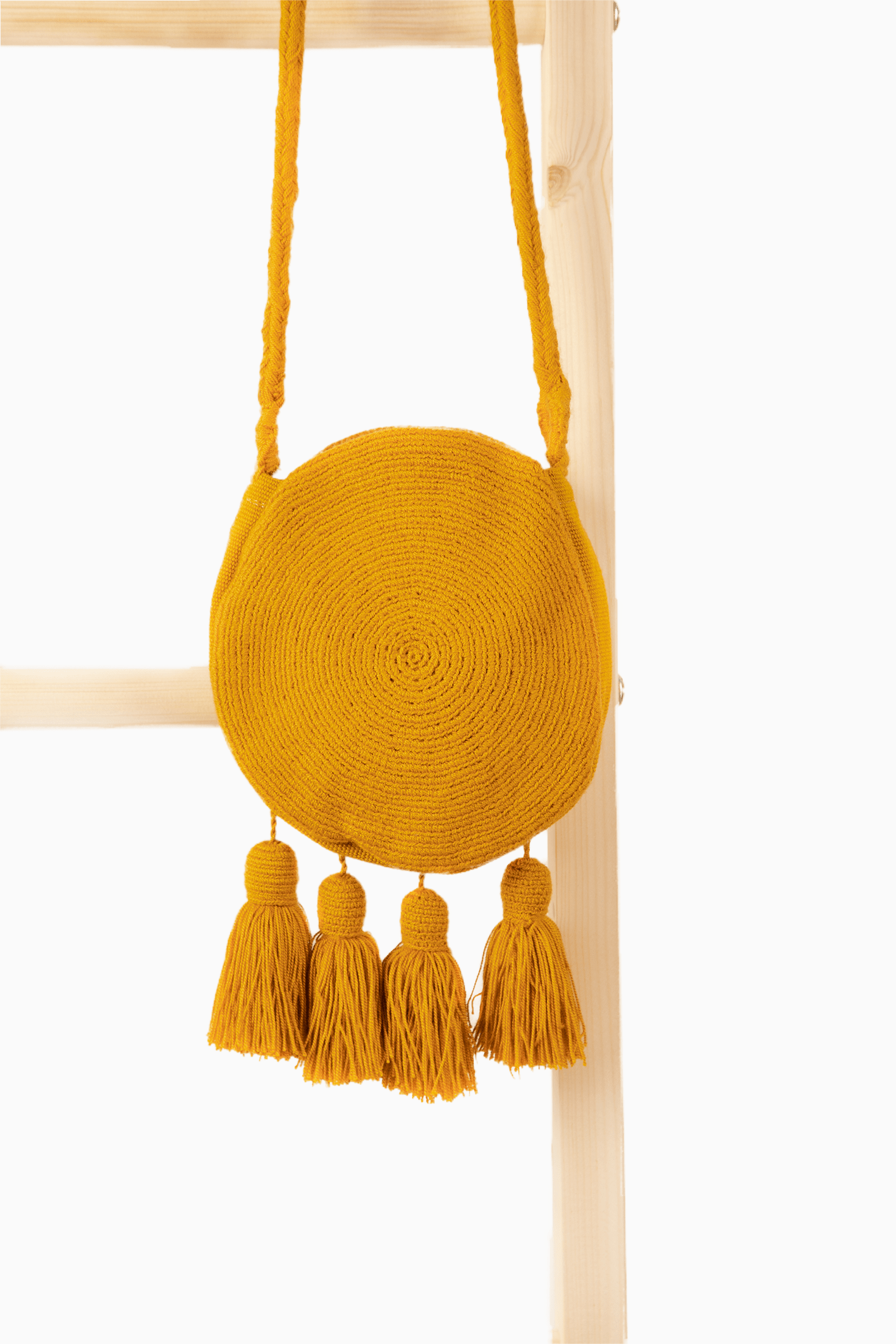Wayuu Banjo Mini Sling - Mustard - Our Barehands