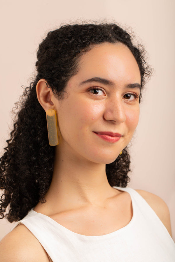Dahayu Earrings - Turmeric