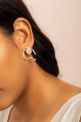 Aru Earrings - Sand