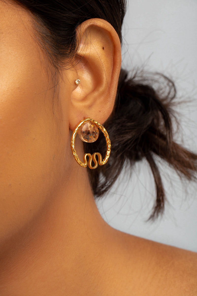 Ara Earrings - Chilli