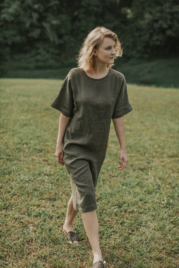 Home: Canyon Jumpsuit by Mary Lee (Forest Pine)