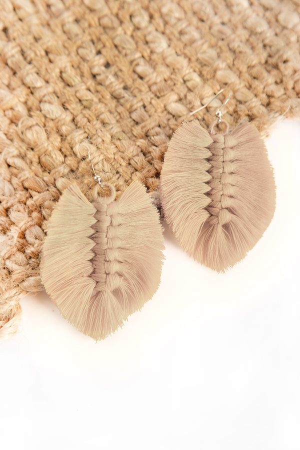 Sandar Leaf Earrings