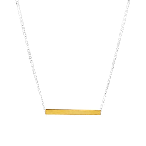Rock Finders Keepers | Alexis Fine Polished Bar Necklace - Gold | VOULT.COM.AU