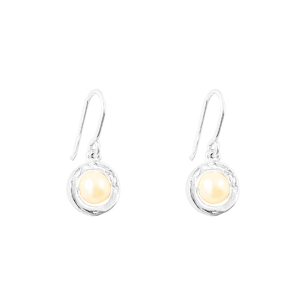 Rock Finders Keepers | Atticus Fine Drop Earrings - Pearl Detail | VOULT.COM.AU
