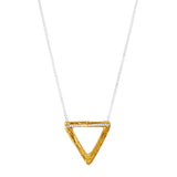 Rock Finders Keepers | Aztec Necklace | Hammered Gold Detail | VOULT.COM.AU