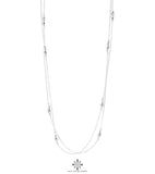 Rock Finders Keepers | Cassidy Necklace - Long | Polished Silver Detail | VOULT.COM.AU
