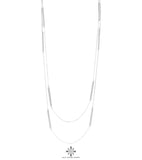 Rock Finders Keepers | Cooper Necklace - Long | Polished Silver Detail | VOULT.COM.AU