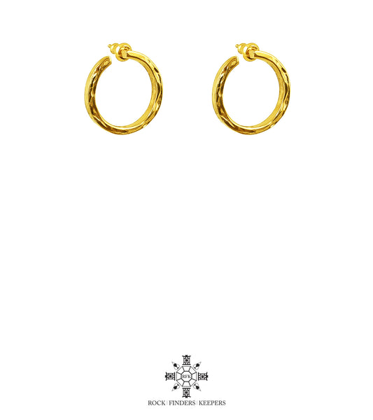 Rock Finders Keepers | Cuba Earrings | Gold | VOULT.COM.AU
