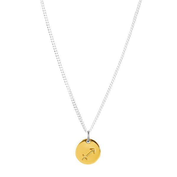 Rock Finders Keepers | Charlotte Zodiac Necklace | Gold | VOULT.COM.AU