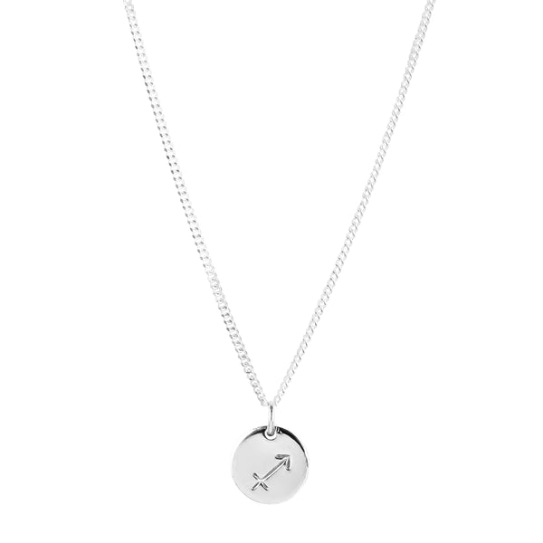 Rock Finders Keepers | Charlotte Zodiac Necklace | Silver | VOULT.COM.AU