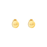 Rock Finders Keepers | Charlotte Zodiac Stud Earrings | Gold | VOULT.COM.AU